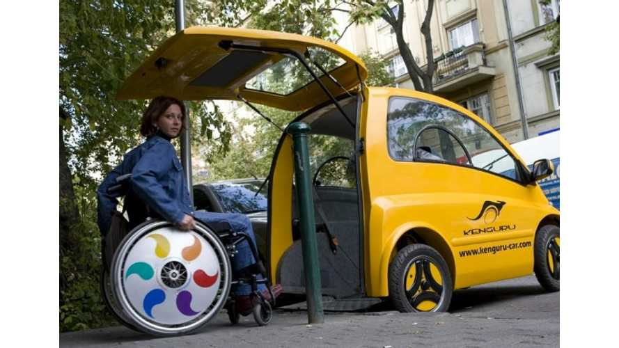 Kenguru Now Taking Orders For Wheelchair Accessible EV