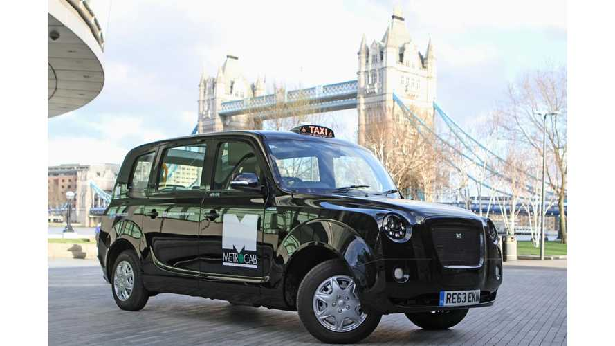 London Mayor: All Taxis Will Have to be Zero Emissions Capable by 2018