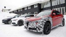 Alfa Romeo Stelvio: Neuer Erlkönig deutet auf Facelift hin
