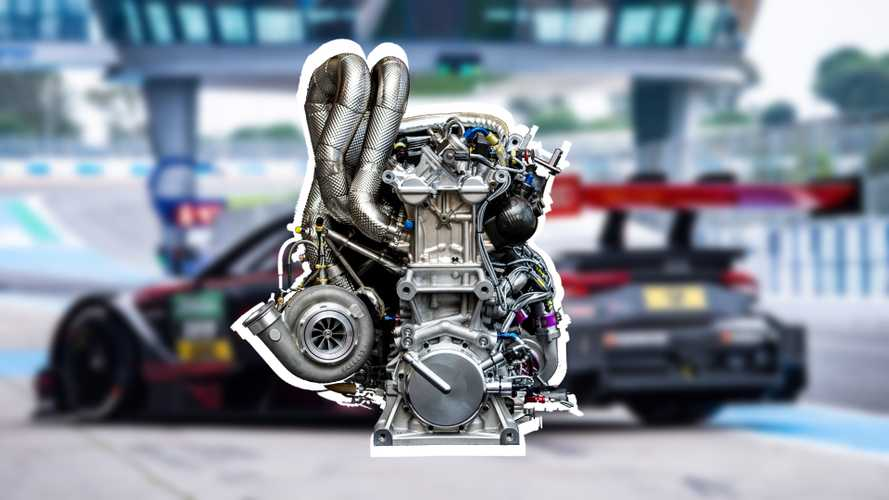 Audi's new four-cylinder race engine has a ridiculous 602 bhp