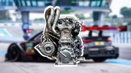 Audi's New Four-Cylinder Race Engine Has A Ridiculous 610 HP