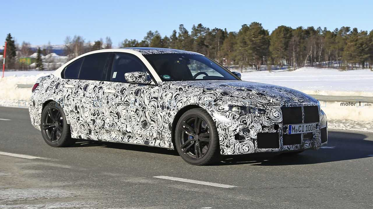 here are new bmw m3 spy shots to beat the monday blues