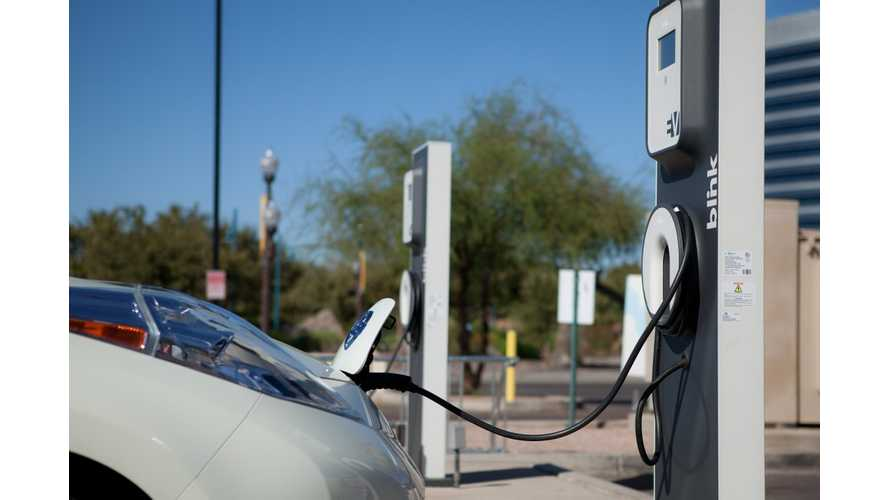 Blink EV Charging Stations Draw a Blank
