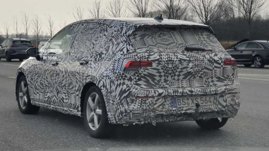 2020 VW Golf caught in Denmark looking oh-so familiar