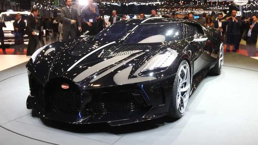 Bugatti au salon de Genève 2019