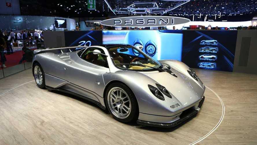 La toute première Pagani Zonda C12 restaurée pour Genève