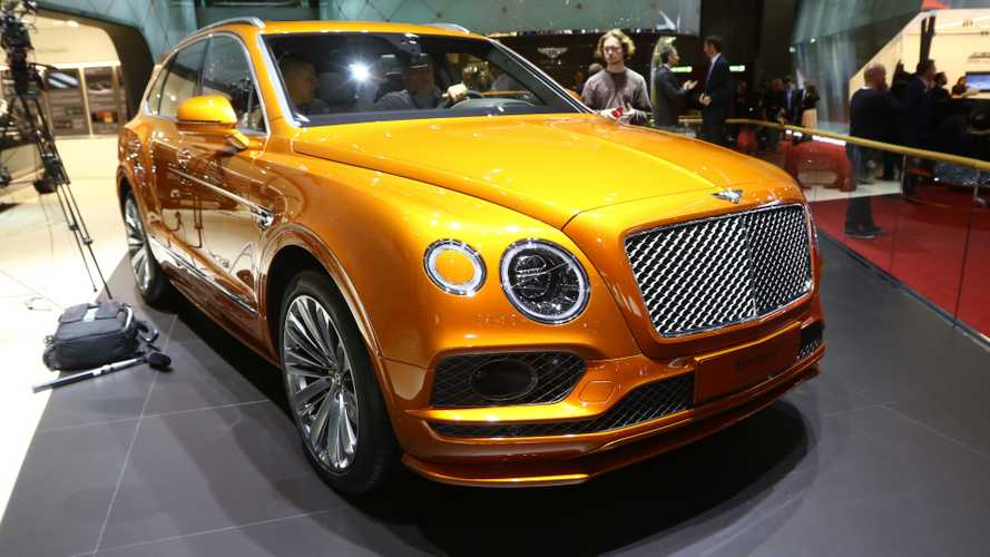 Bentley Bentayga Speed Arrives In Geneva As Fastest SUV Ever