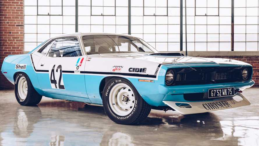 This Chrysler Plymouth Hemi 'Cuda Is A French Racing Legend