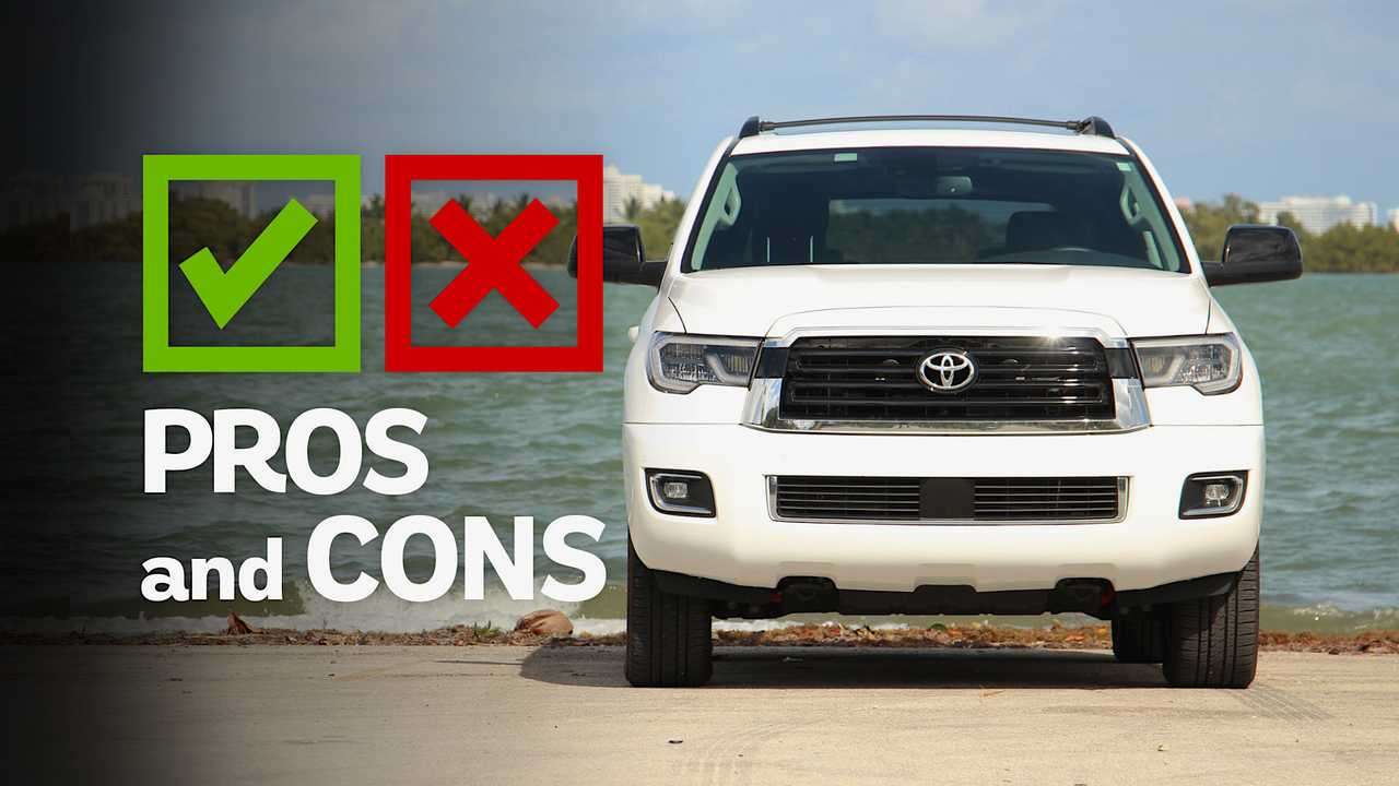 2019 Toyota Sequoia TRD Sport: Pros And Cons