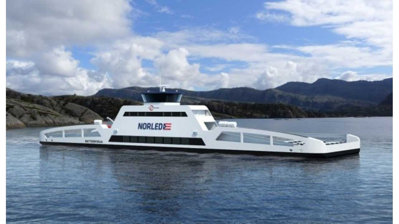 Rolls-Royce Provides Electric Propulsion System for Vehicle-Hauling Ferry