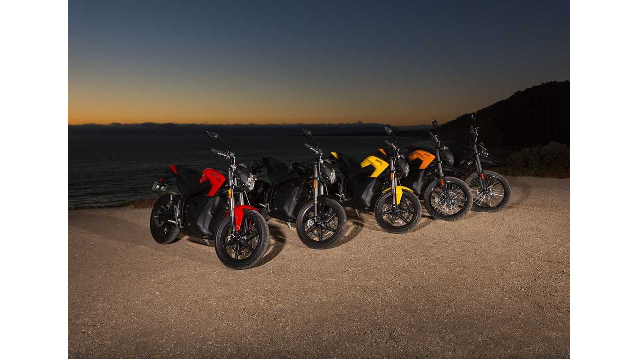 Zero Motorcycles Introduces Refined Lineup For 2014