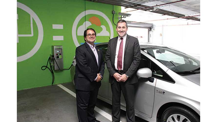 One of Connecticut's Oldest Charging Stations Finally Gets Used for First Time Two Years After Install