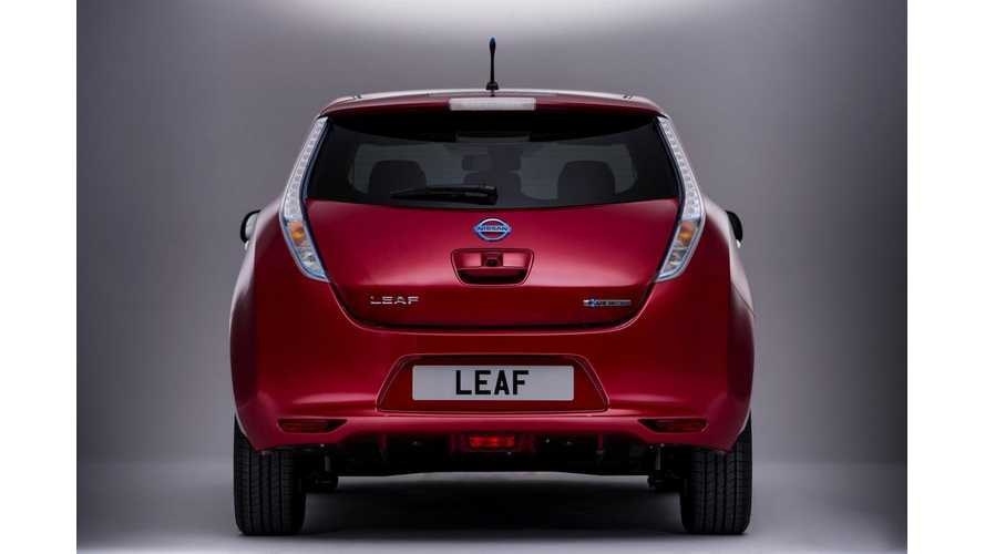 September Plug In Vehicle Sales in France - Nissan LEAF Shines