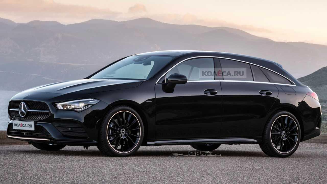 mercedes cla shooting brake 2019 extrem realistisch. Black Bedroom Furniture Sets. Home Design Ideas