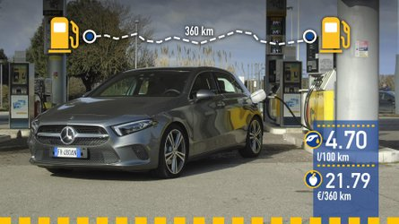 Mercedes-Benz A 200, prueba de consumo real