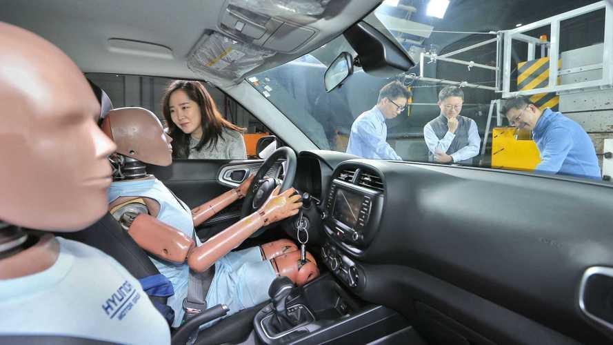 L'airbag multicollisione Hyundai e Kia