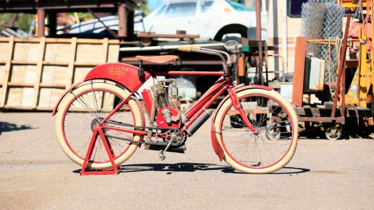 1908 Indian Single Camelback