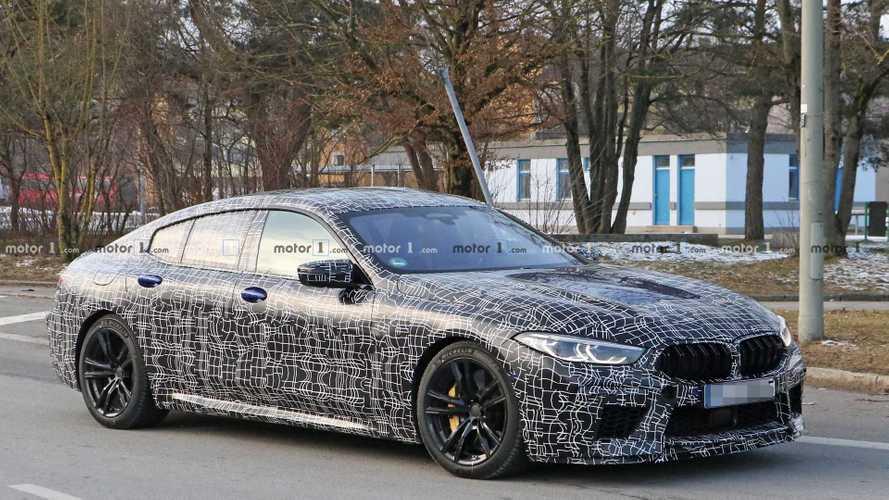 BMW M8 Gran Coupe ilk kez casuslara yakalandı