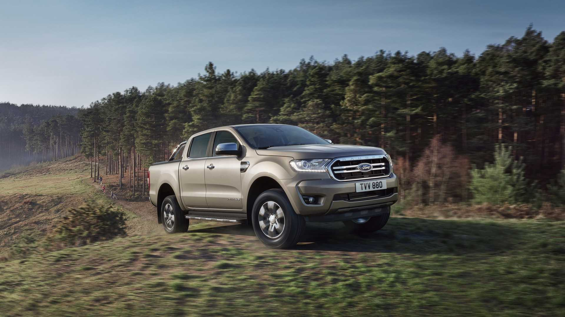 Ford Ranger Demonstrates Towing Power By Pulling 20 Caravans