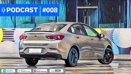 Motor1Cast #8: Novo Chevrolet Prisma em detalhes