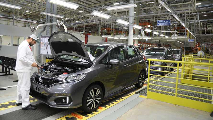 Produção de automóveis cresce 8,4% em julho, diz Anfavea