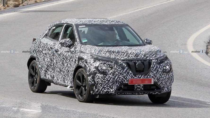 Nissan Juke 2020 perde camuflagem e revela visual ainda mais ousado