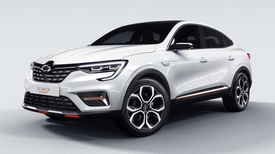 Samsung XM3 Inspire оказался корейской версией Renault Arkana