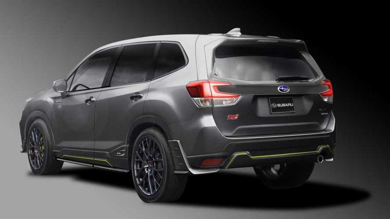Subaru Forester Sti Impreza Sti Concepts Get Visual Upgrades