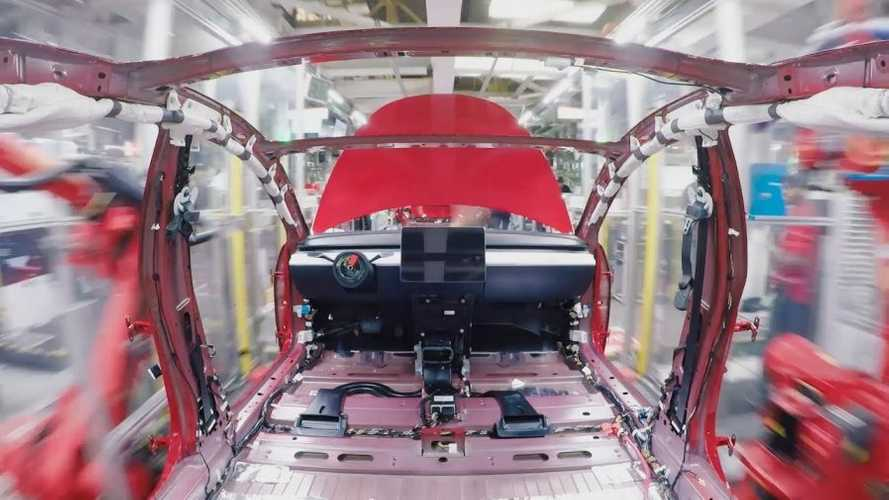 Watch How A Tesla Model 3 Gets Made: Time-Lapse Video