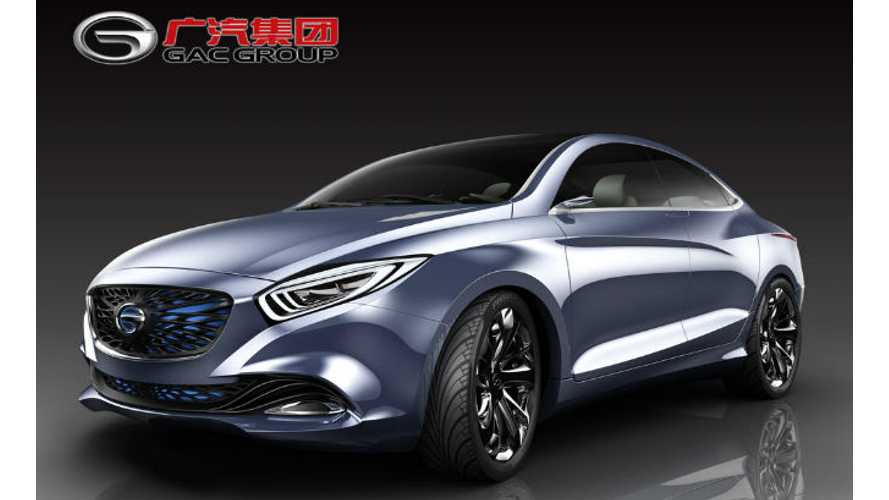 China's GAC Unveils 2 Plug-In Vehicles in Detroit