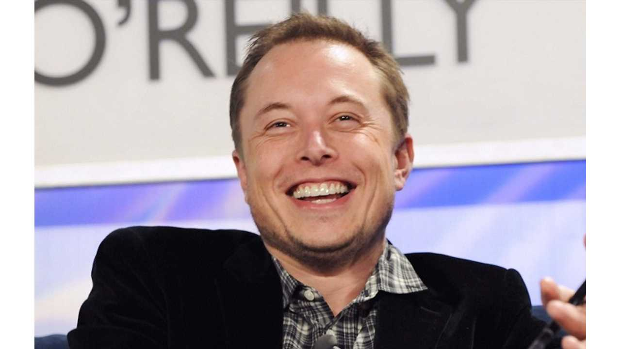 Musk laughs
