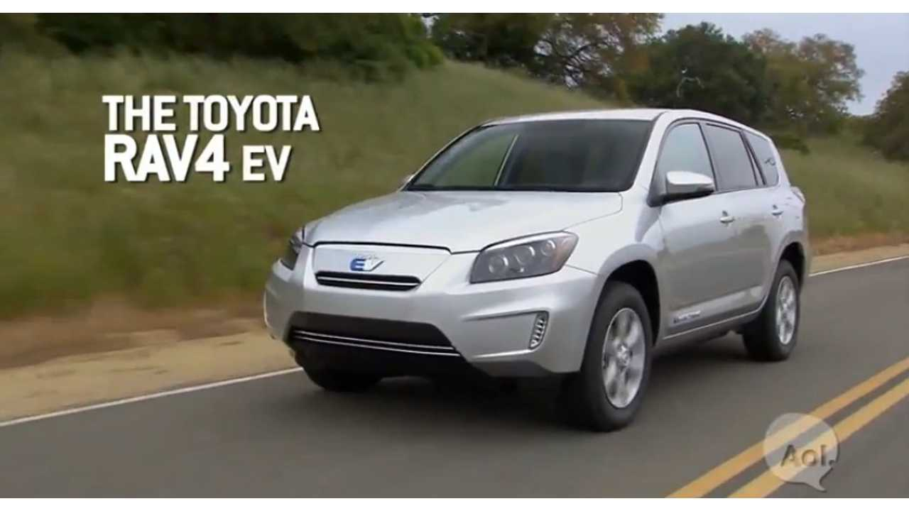 Toyota RAV4 EV Video Road Test