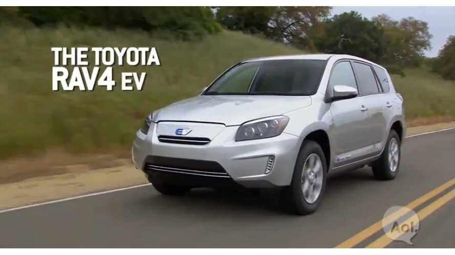 Toyota RAV4 EV Video Road Test