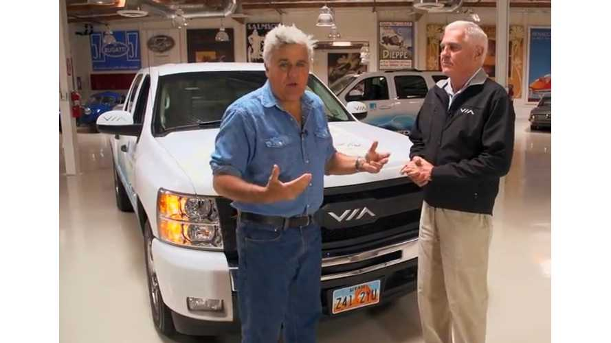 Bob Lutz And Jay Leno Drive VIA's Extended Range VTRUX (Video)