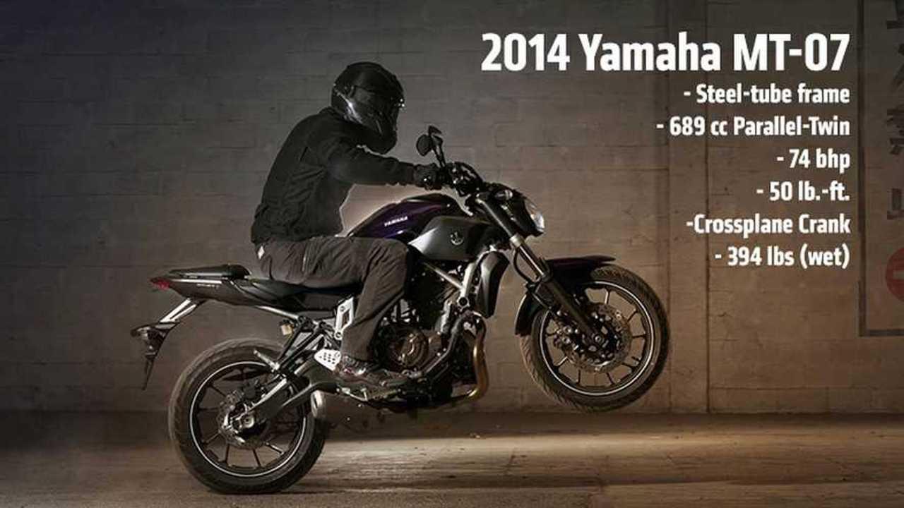 2014 Yamaha MT-07 Feature
