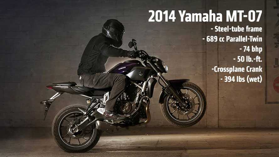2014 Yamaha MT-07: First Photos and Specs