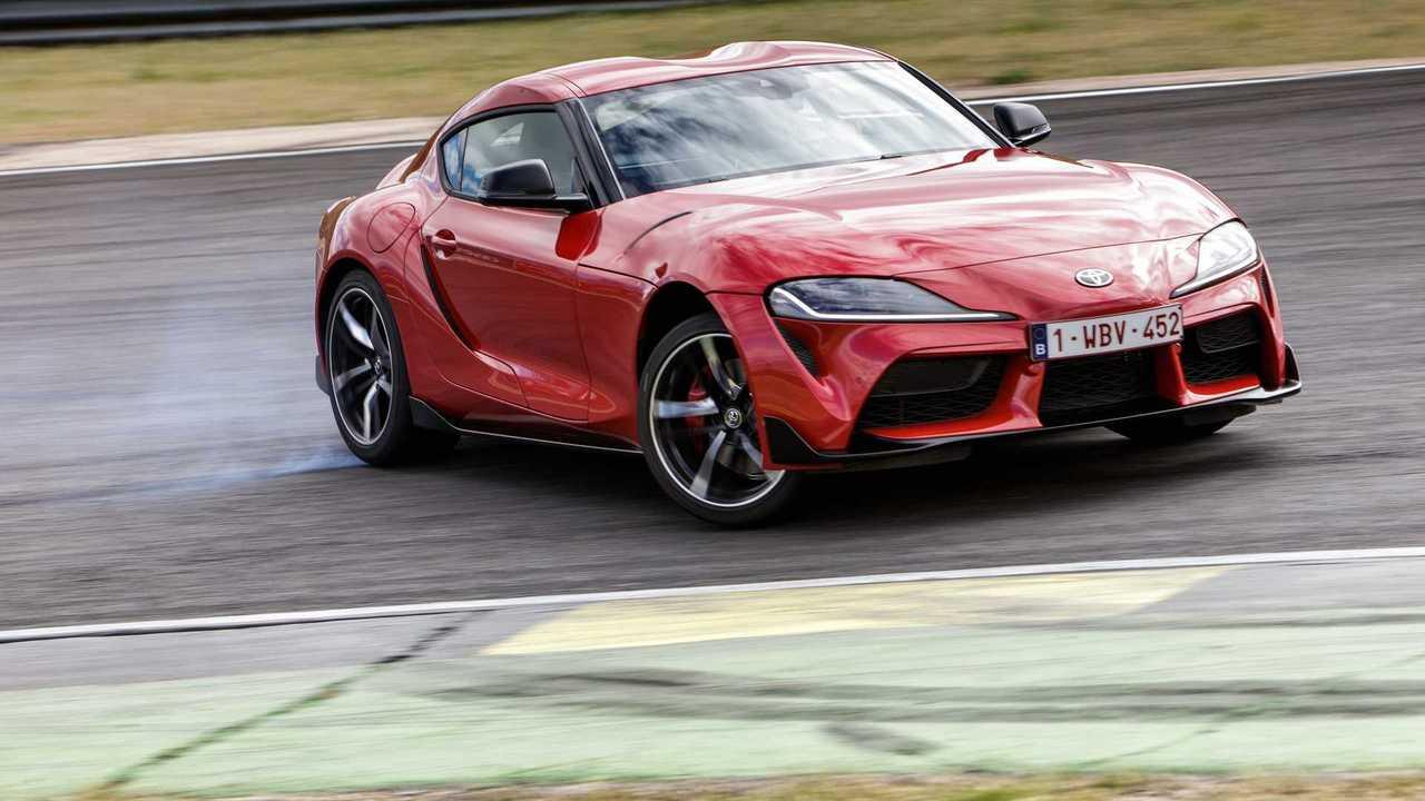 Test Toyota Supra 2019