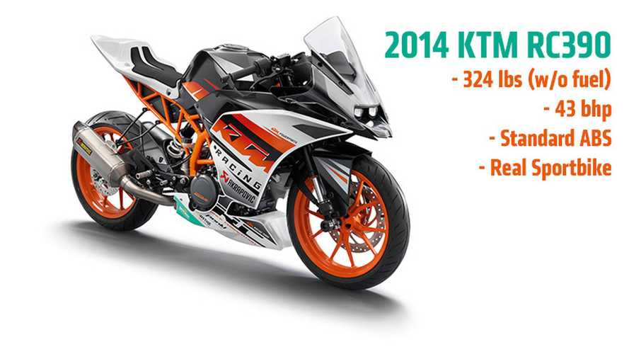 2014 KTM RC390: New High-Res Photos