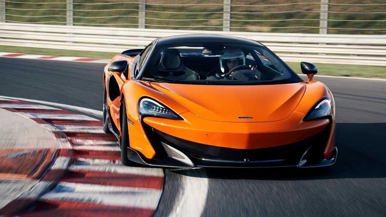 7. McLaren 600LT