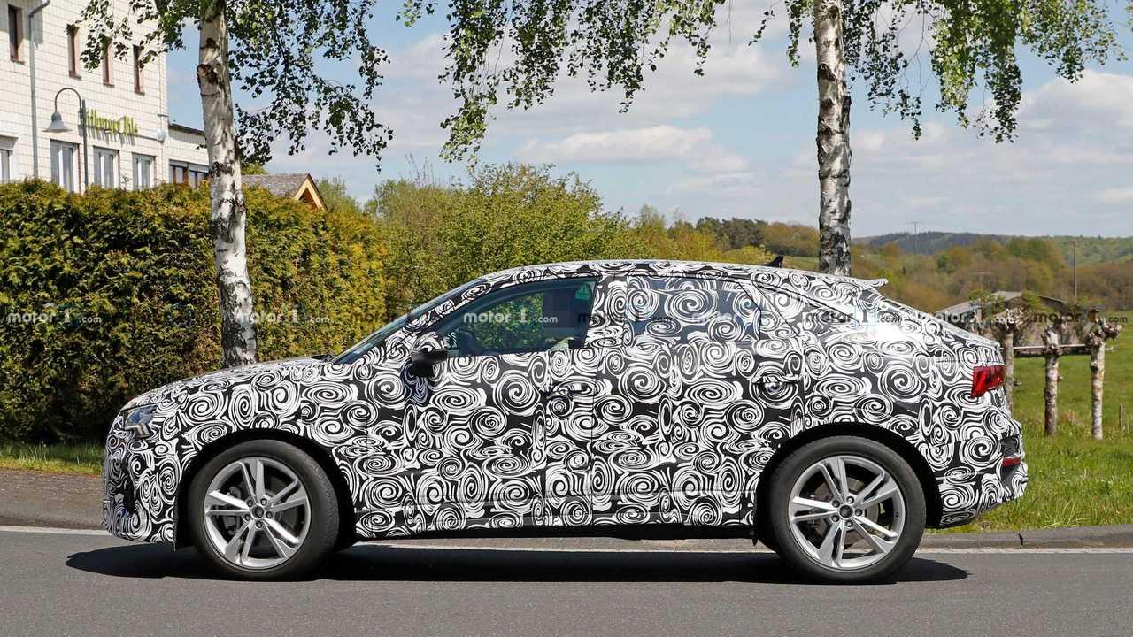 Audi Q3 Sportback spy photo