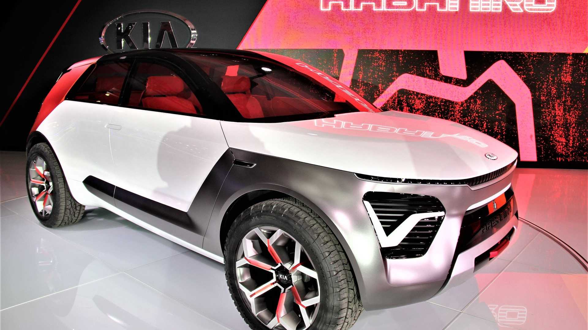 Kia HabaNiro Electric CUV At The New York Auto Show