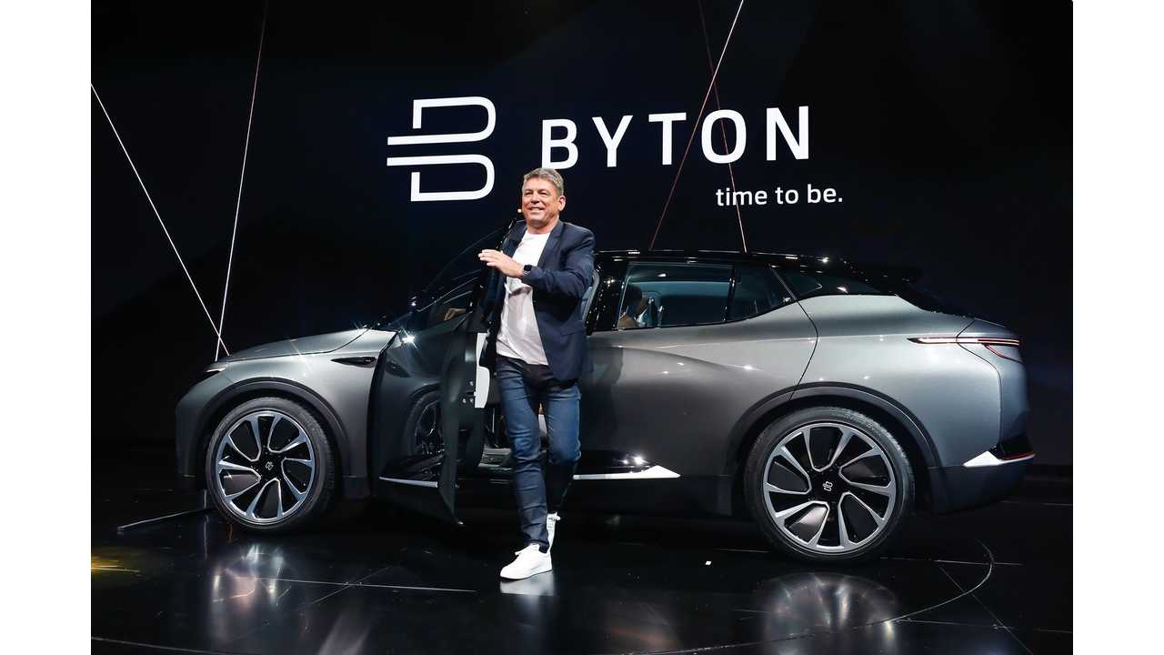 BYTON CO-Founder Breitfeld Departs For Iconiq Motors