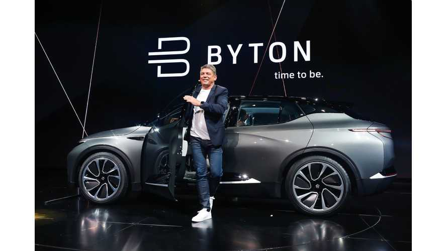 BYTON CO-Founder Breitfeld Departs For Iconiq Motors