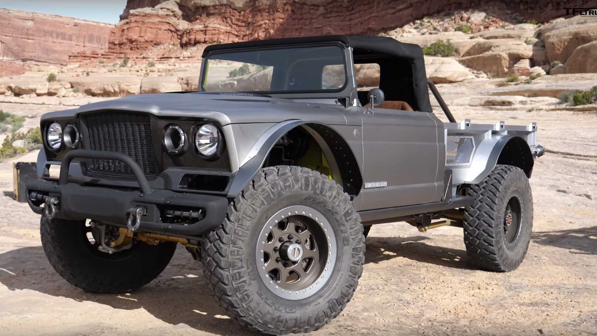Supercharged 700 Hp Jeep Gladiator Concept Detailed On Video