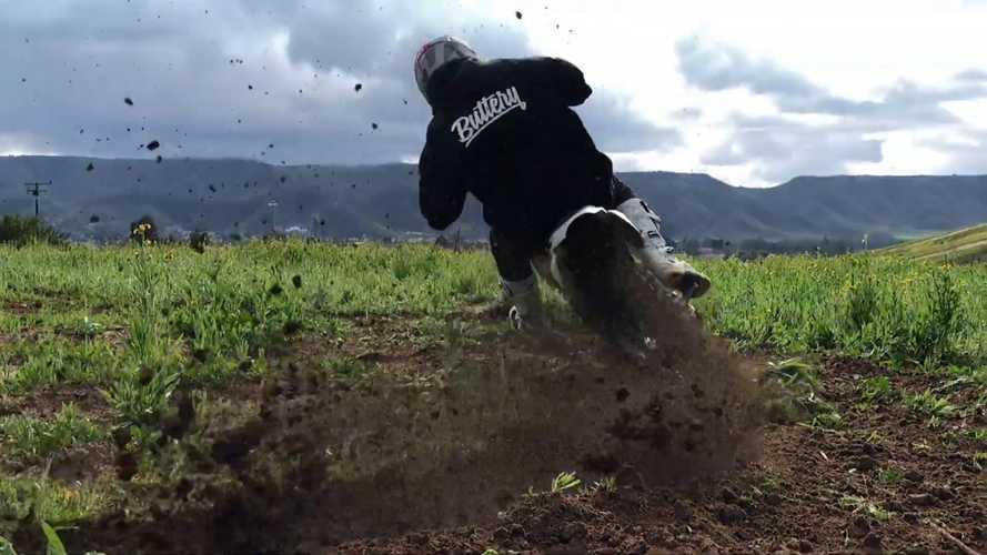 Watch MX Rider Thrash This Electric Dirt Bike