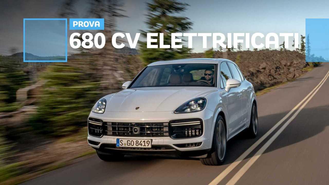 Porsche Cayenne Turbo S E-Hybrid, V8 ibrido plug-in
