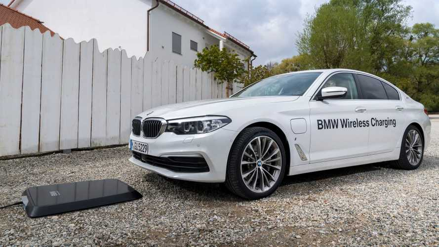 BMW Expands Its 530e Pilot Wireless Charging Program To U.S.