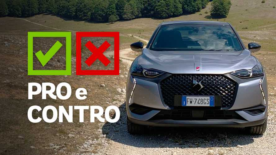 DS 3 Crossback BlueHDi 100 Performance Line, pro e contro