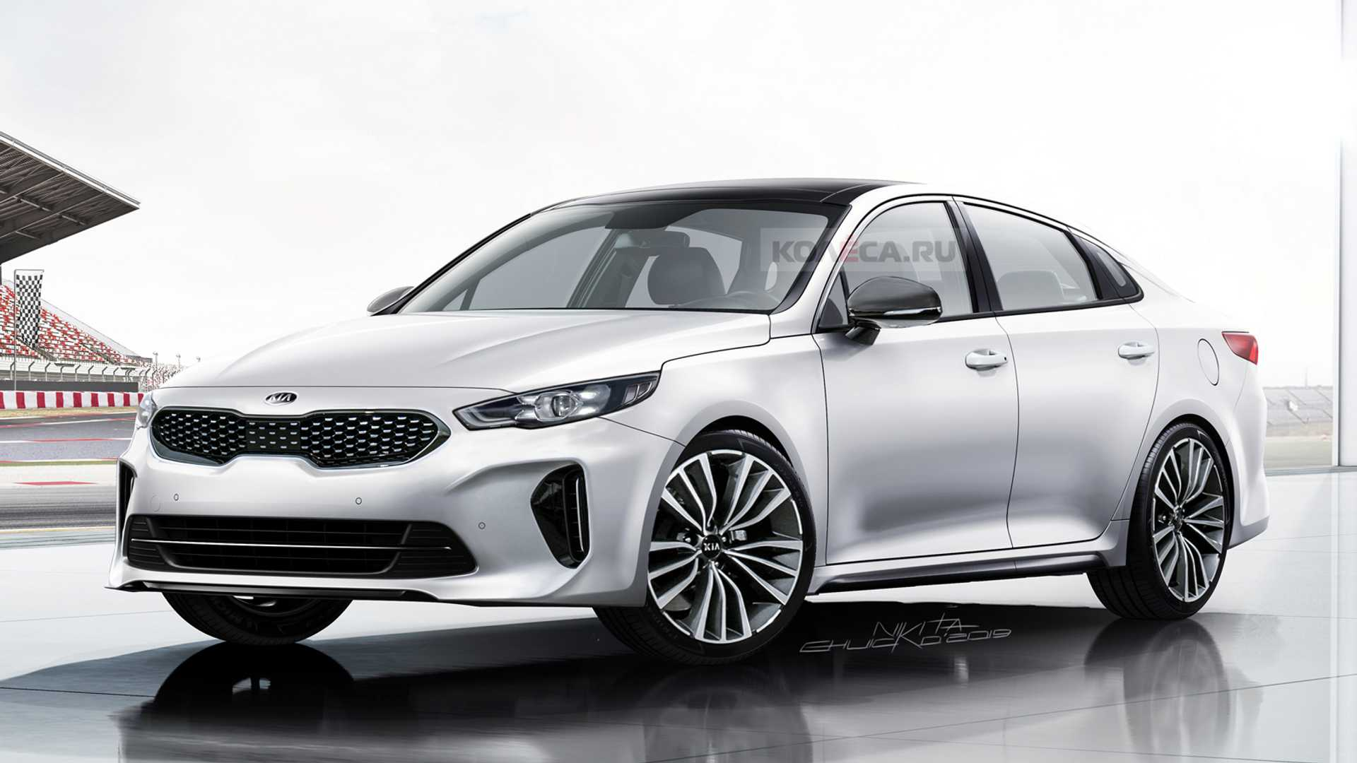 Kia Optima Gets Stylish Look In Next-Gen Rendering