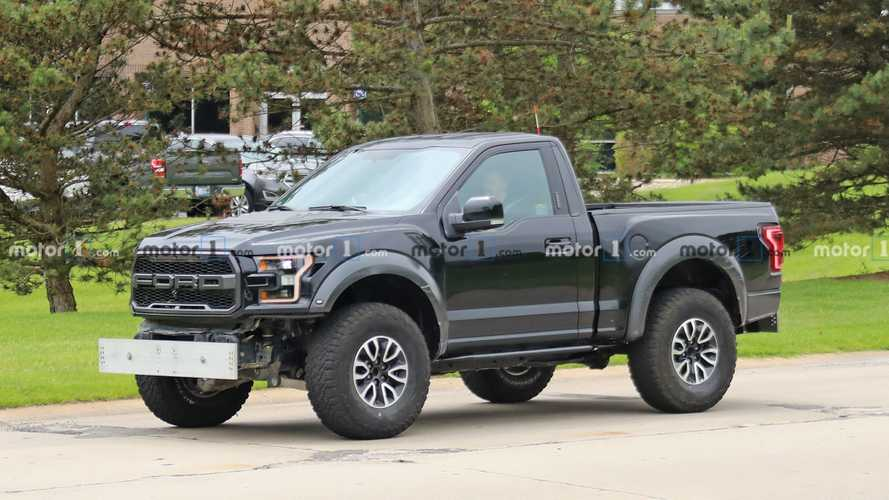 Weird Short-Wheelbase F-150 Raptor Spied, Might Be Bronco Test Mule